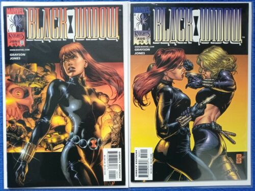 Black Widow #1 & 3 Marvel Knights 1999 VF+