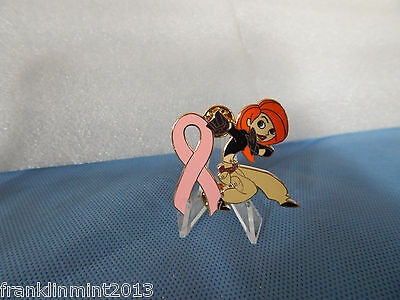 Disney's Kim Possible BREAST CANCER AWARNESS Ltd EDITION Ribbon Pin-version 1