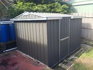 Garden Shed, grey steel, used, great condition Mornington Mornington Peninsula Preview