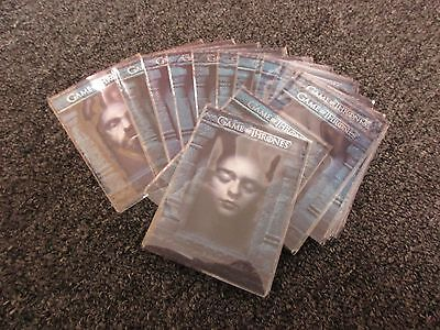 Game of Thrones Season 6 Hall of Faces 16 Card Insert Set - Series Six