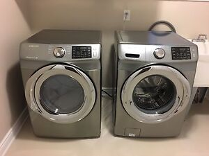 Brand new Samsung washer and dryer set