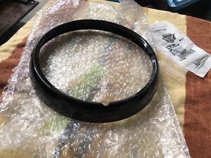 Harley-Davidson Touring Black Headlamp Trim Ring