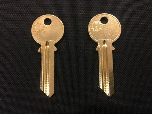 Yale Y1 Key Blanks, each a solid brass key blank, JMA brand, 2 Keys!