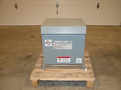 New Hammond Hps Distribution Transformer Pri 480v 208y120v 15kva Sg3a0015kb