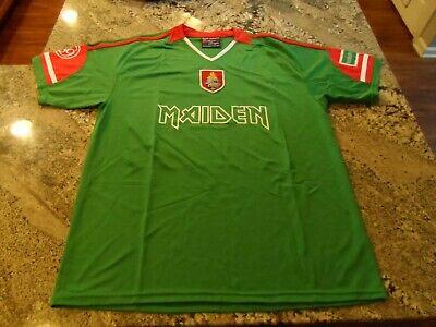 IRON MAIDEN Soccer Jersey Football shirt Official Merch World Cup Mexico