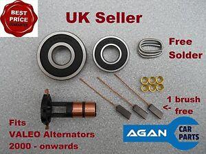 ARK106 NEW REPAIR KIT FOR VALEO ALTERNATOR Slip rings Brushes Brush Set 2000 on