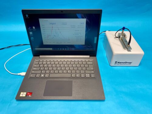 Thermo Nanodrop 1000 with New Win 10 Lenovo Laptop