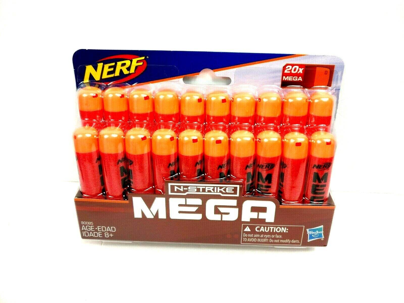 Nerf N-STRIKE Mega 20x Refill Toy Ammo Darts Hasbro New Seal