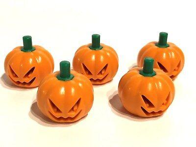 LEGO ®  5 Kürbisse / 5 x - Halloween Kürbisse