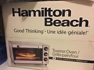Oven toaster.