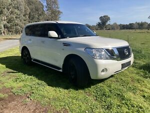 2016 Nissan Patrol Ti (4x4) , 5.6 LITRE V8 AUTO , 8 SEAT Holbrook Greater Hume Area Preview
