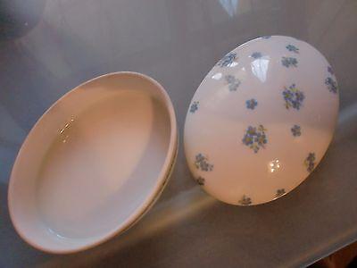 Pillendose Dose Porzellan Veilchen Brand L M J W No. 3074  porcelain pill box