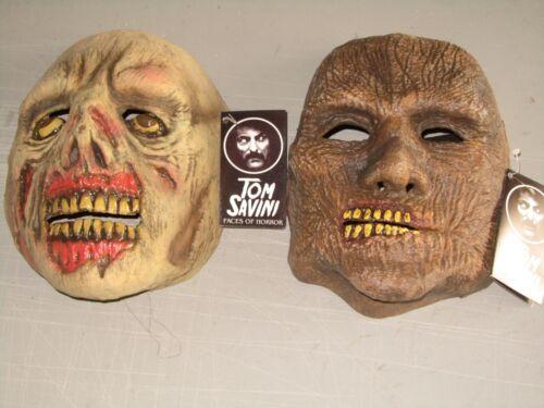 TOM SAVINI MASK COLLECTION Trick or Treat Studios Halloween Deco Horror Maker