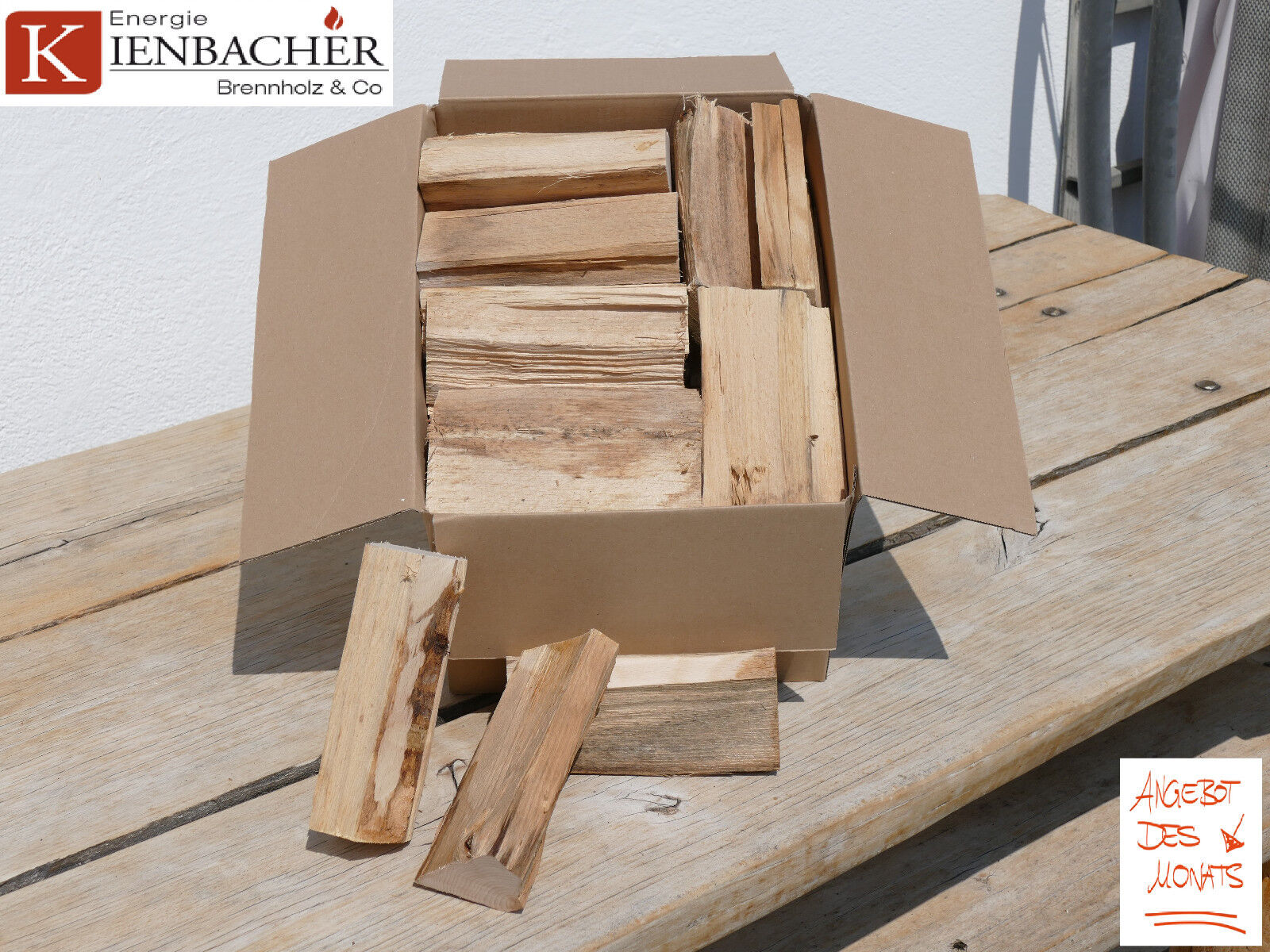 10 Kg Wood Chunks Buche 15cm BBQ Smoker-/Räucherholz zum smoken räuchern grillen