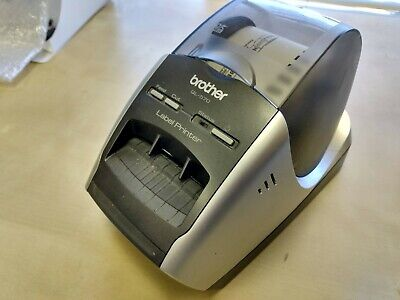 Brother Ql-570 Thermal Label Printer Includes Cords And Extra Paper Rolls