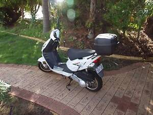 Adly Cougar 125 - 2014. Lovely little scooter. V low klms, Woodvale Joondalup Area Preview
