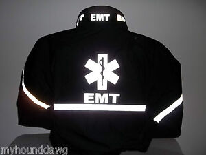 All-Reflective-EMS-Jacket-EMT-Paramedic-Black-or-Navy-Choose-Your-Prints