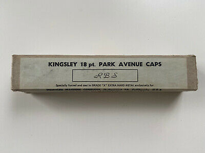 Kingsley Machine Type Park Avenue Hot Foil 18pt Caps