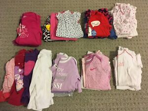 $50 — girl 6-12 mos shoes, clothes, books