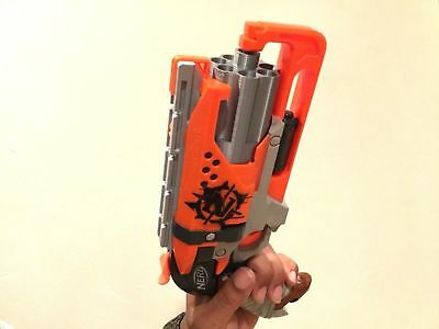 SSWI Hammershot 7 Shot Any Color Barrel For NERF Mod Upgrade Hammer Shot