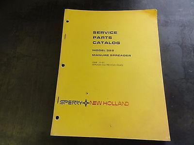 New Holland 329 Manure Spreader Service Parts Catalog  4-81