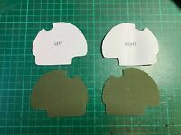 OD Olive Drab Low-Vis Peltor Comtac XPI Adhesive Camouflage Sticker Military