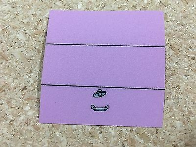 Stern Simpsons Pinball Party Garage Decal Sticker - New Nos!