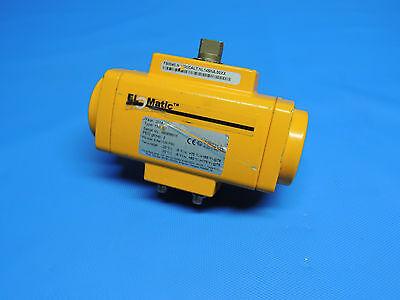 Elomatic Type F0040U Zahnstangen-Pneumatikventil Stellantrieb   InkRechnung