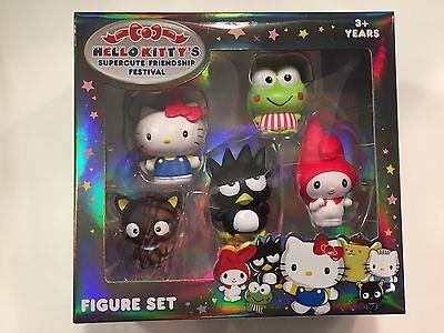 Hello Kitty Supercute Friendship Festival 5 Pieces Figure Set (HK2)