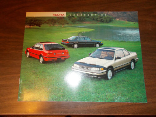 1988 Acura Accessories 8-page Catalog
