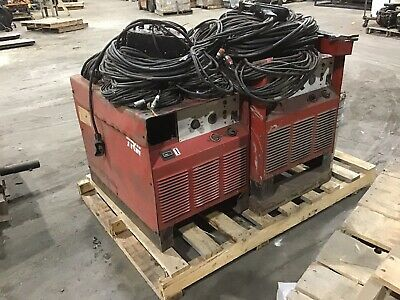 Nelson Trw Tr850 Stud Welder With Gun And Cables