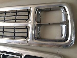 1980 dodge truck quad headlight grill.