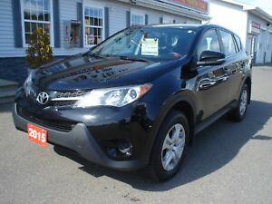 2015 Toyota RAV4 We finance 0 money down &  cash back* LE
