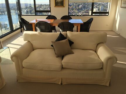 Two Large Sofas: 2 - 3 seater Darling Point Eastern Suburbs Preview