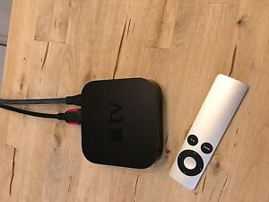 AppleTV - comes with remote and HDMI cable