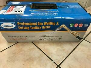Morris Professional Gas Welding &Cutting Toolbox Outfit GCW-24TB Darwin CBD Darwin City Preview