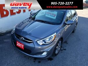 2017 Hyundai Accent GLS SUNROOF, HEATED SEATS