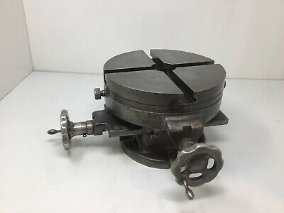Palmgren Machinist Milling Table Drill Press Vise 8 Cross Slide Rotary Table
