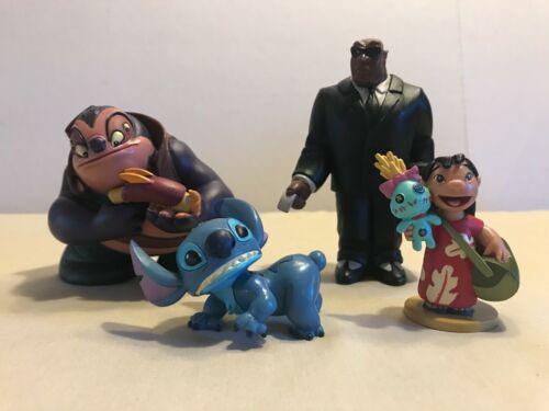 Disney Lilo & Stitch Figurines PVC Toy/Cake Toppers Lot
