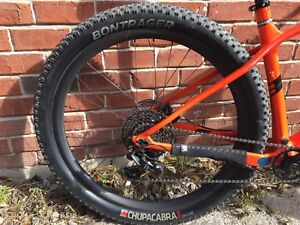 29+ Carbon Wheels with Bontrager Chupacabra 29 x 3 tires