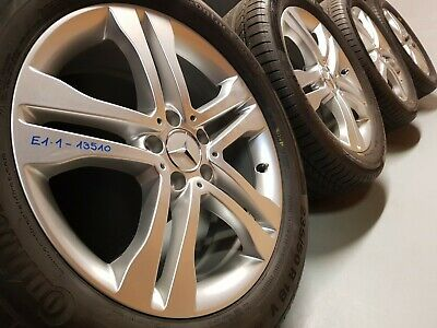 Mercedes GLA X156 Alufelgen 235/50 R18 Sommerreifen RDK-Sensor  7,5mm