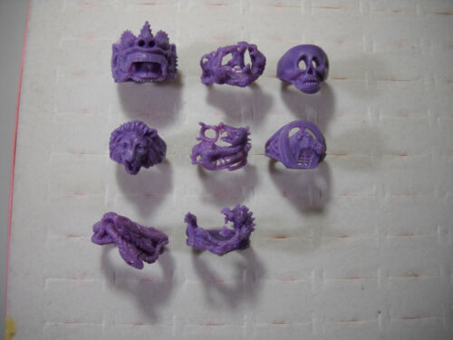 1533# Wax pattern waxes for casting wax ring lot 4 dragons + others for men