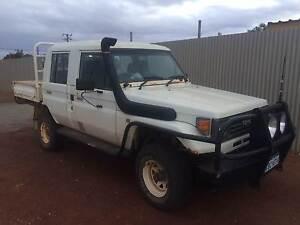 1995 Toyota LandCruiser Ute Duel cab Boulder Kalgoorlie Area Preview