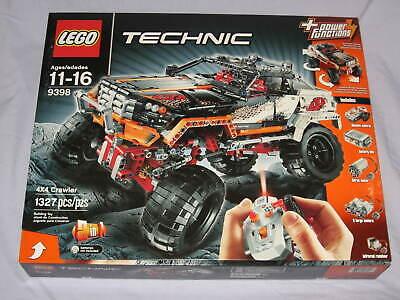 Lego Technic Lego 9398 4x4 CRAWLER Set NEW SEALED NIB released in 2012 Retired