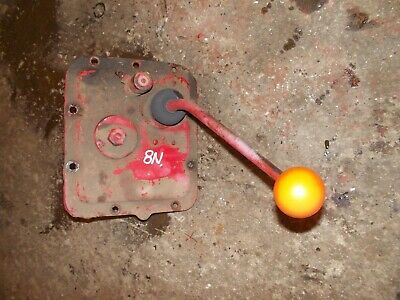 Ford 8n Tractor Original Gear Shifter W Starter Button Mounting Plate