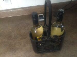Wine holder and coat rack