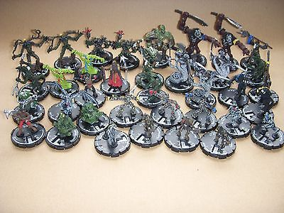 36 MAGE KNIGHT MINIATURE GAME FIGURES