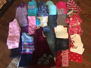 Girls size 2 fall and winter wardrobe