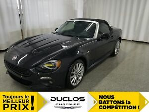 2017 Fiat 124 Spider Lusso*NAV*CUIR CHAUFF*ANGLES MORTS DETECT*C