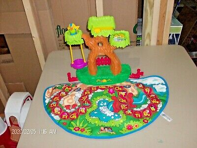 Fisher Price Little People A To Z LEARNING ZOO Treehouse ABC Alphabet Mat Only